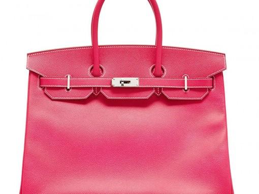 Hermes Birkin in bubblegum pink