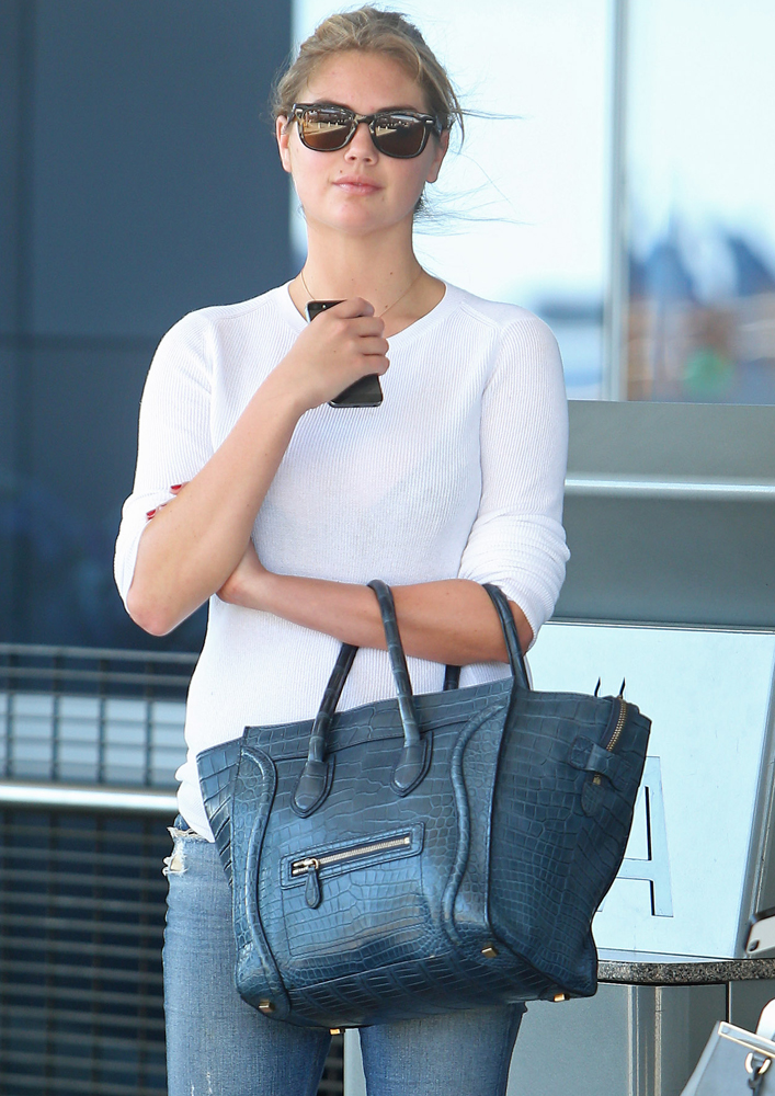 Kate-Upton-Celine-Alligator-Luggage-Tote-2