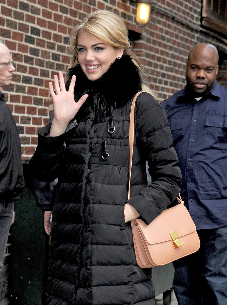 Kate-Upton-Celine-Classic-Box-Bag