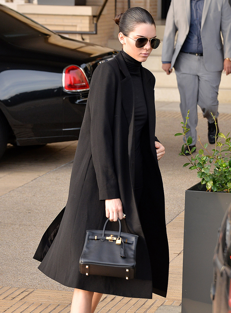 In Praise Of Kendall Jenner S Tiny Herm 232 S Birkin Purseblog