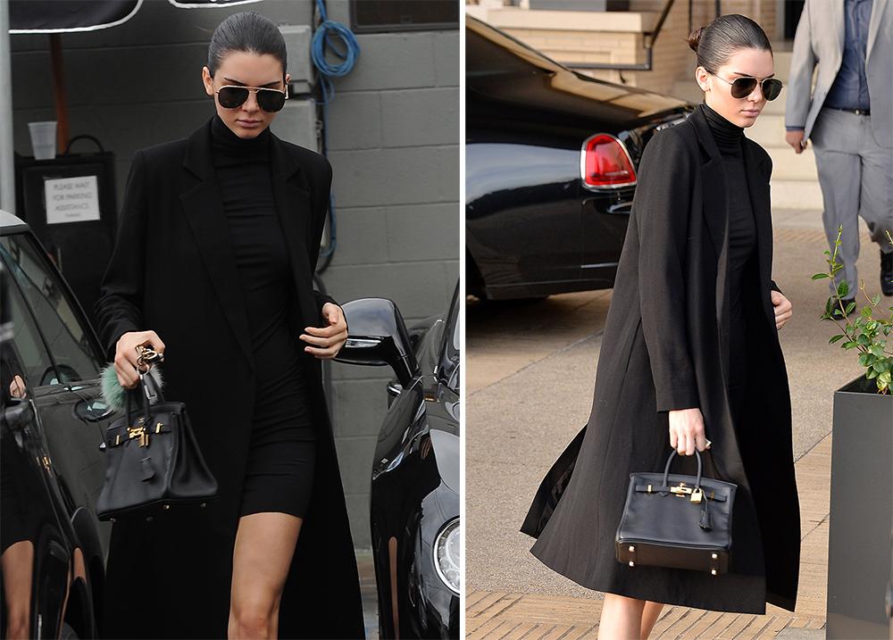 5b3b1f4eed3 In Praise of Kendall Jenner's Tiny Hermès Birkin - PurseBlog
