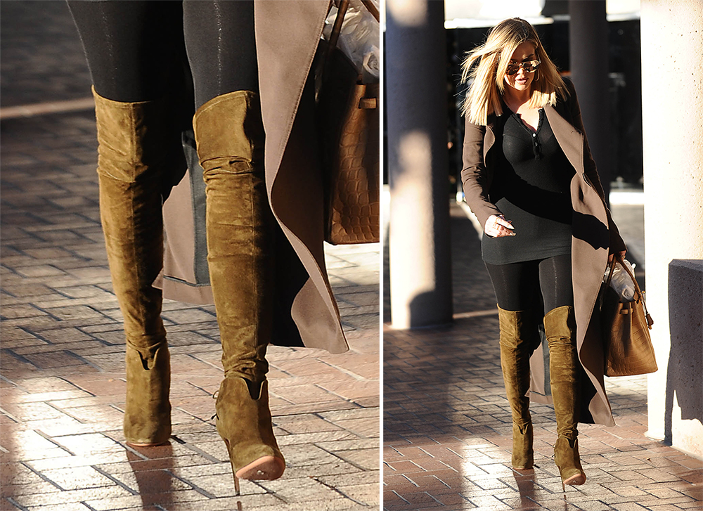 ebe3e8cdbeb Celebs Are Over the Moon for Over-the-Knee Designer Boots This Week ...