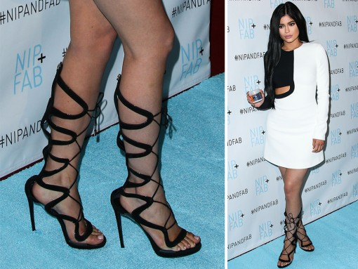 Charlotte Olympia Platform Sandals are Hot with Celebs & Boot Heels Have Never Been Skinnier or More Treacherous