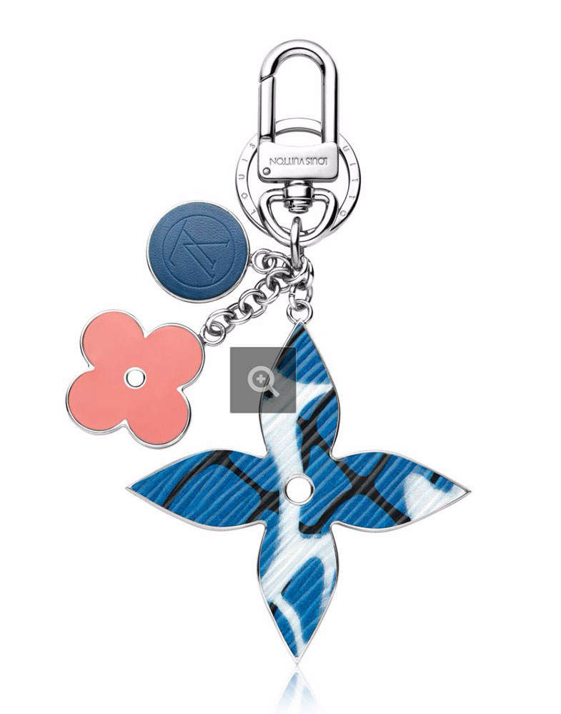 Louis-Vuitton-Aqua-Flower-Bag-Charm