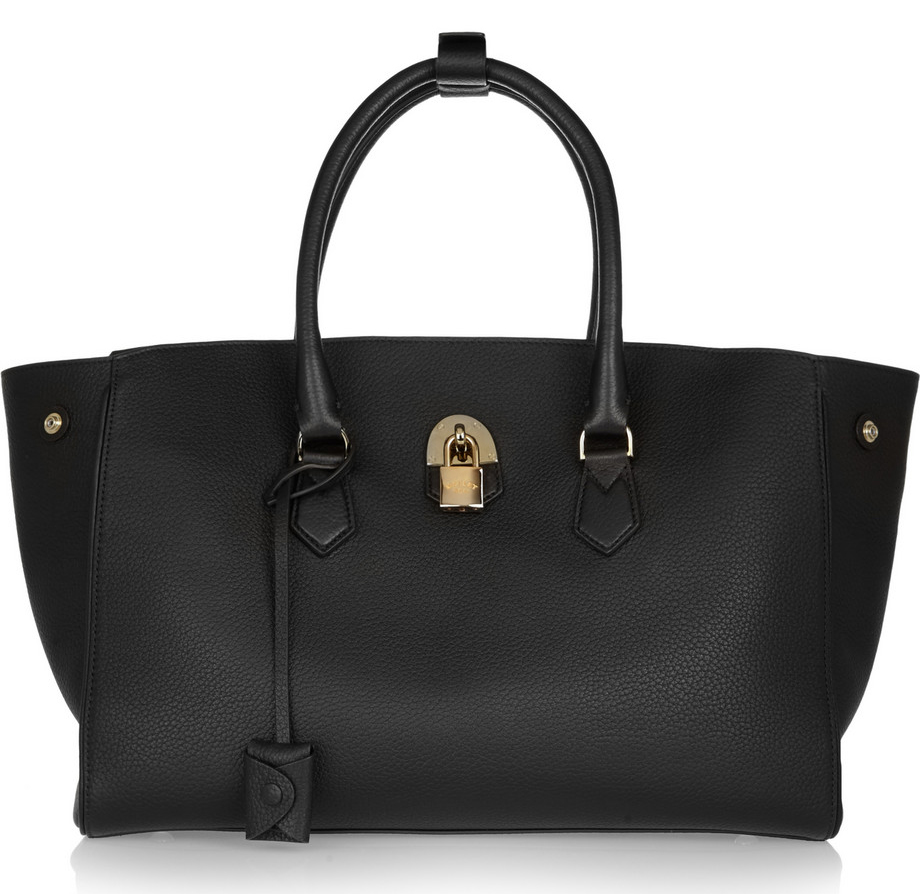 Mallet-and-Co-Zeus-Tote-Black