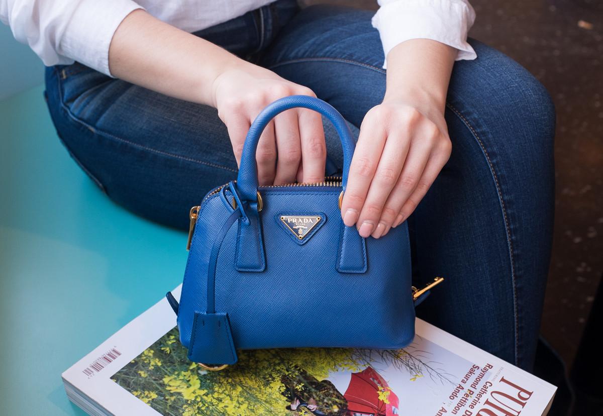 f8528e7b4db4 best price prada saffiano mini promenade bag 8d6c6 7bcef