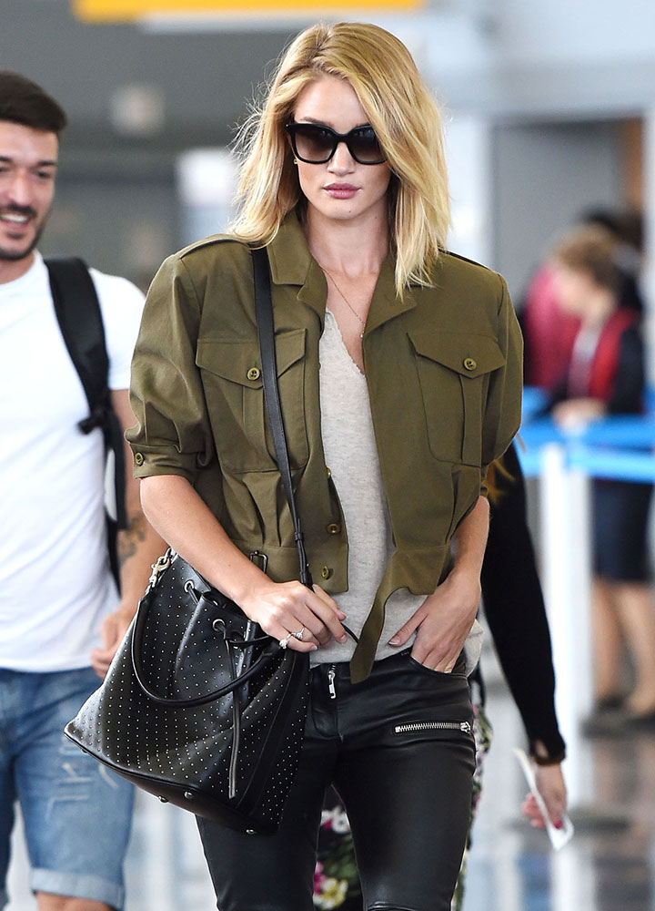 Rosie-Huntington-Whiteley-Saint-Laurent-Studded-Bucket-Bag