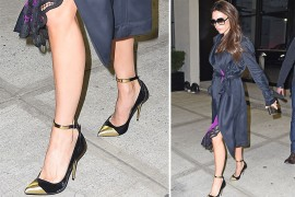 "Platform Pumps & PVC Heels: Celebs Had An ""Everything Old is New Again"" Ethos This Week"