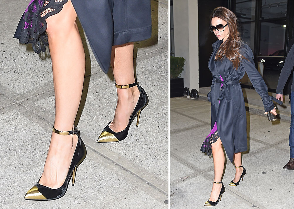 Victoria Beckham Black Pumps