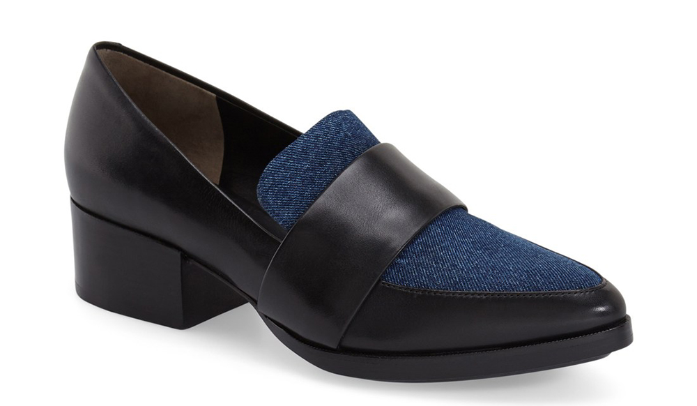 3.1 Phillip Lim Quinn Pointy Toe Block Heel Loafer