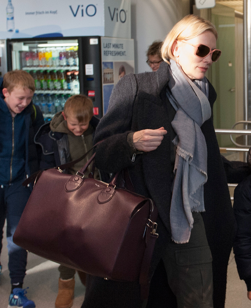 Cate-Blanchett-Bally-Leather-Satchel