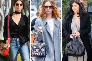 Celebs Carried Cute Bags from Coach, Gucci & Alexander McQueen Last Week