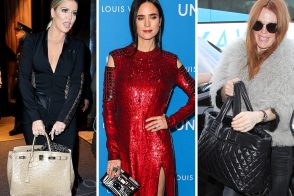Charity Balls and International Airports Provide Us with Some of the Month's Best Celeb Handbags