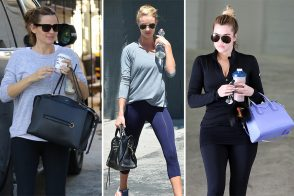 Get Some New Year's Resolution Inspo from 30 Celebs and Their Fancy Bags at the Gym