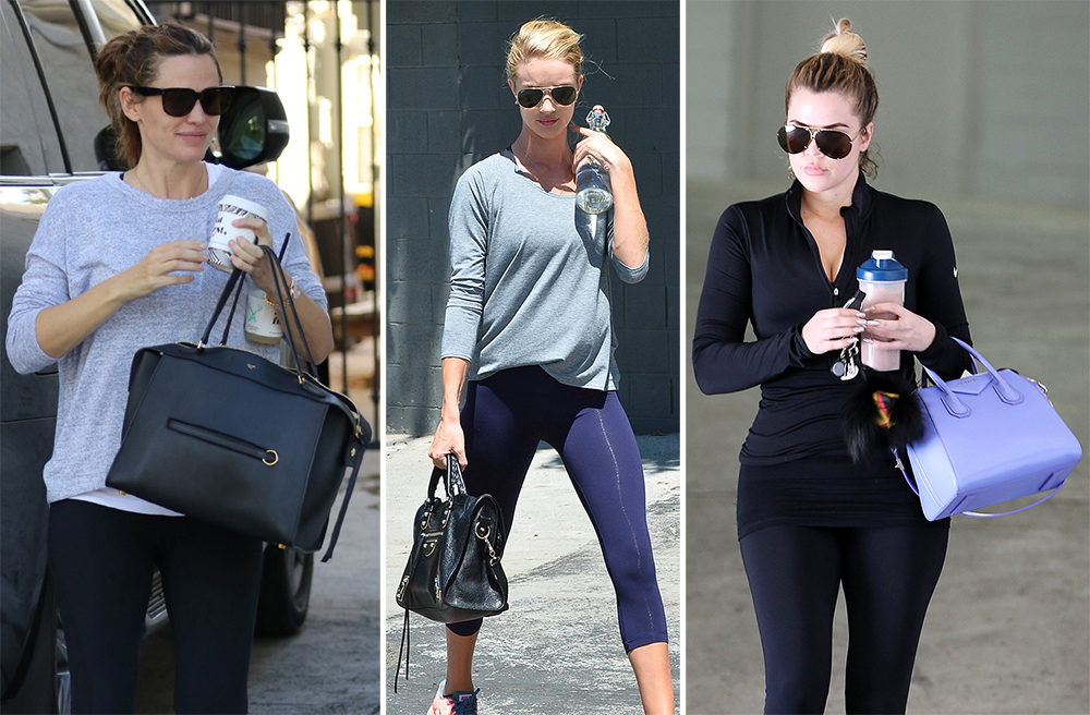 92db843b0f78d2 Get Some New Year's Resolution Inspo from 30 Celebs and Their Fancy Bags at  the Gym - PurseBlog