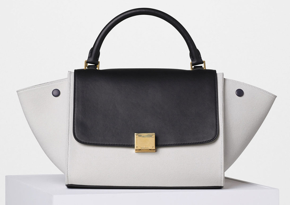 celine little canvas bag