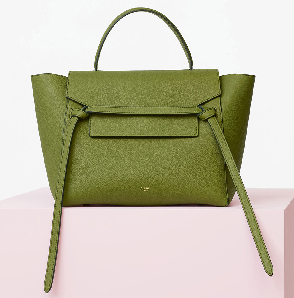 Celine-Mini-Belt-Bag-Green