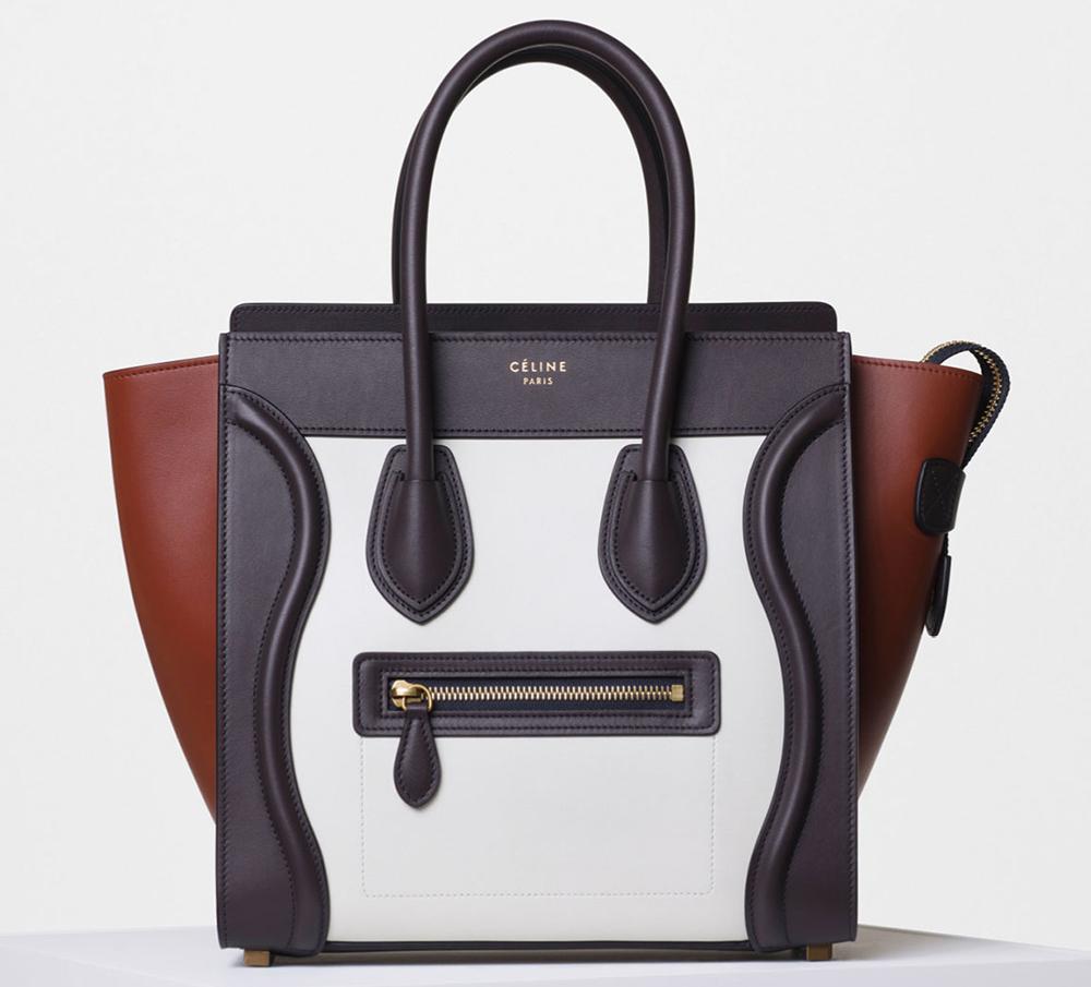 Celine-Tricolor-Micro-Luggage-Tote-White-3100