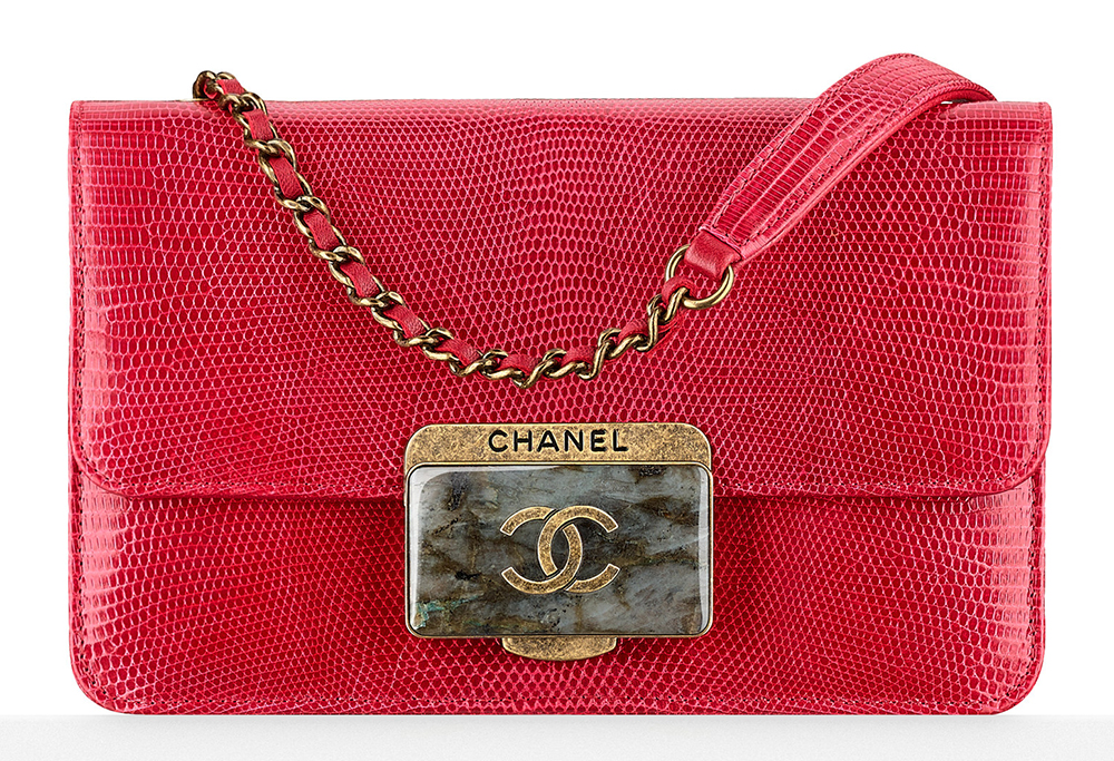 Chanel-Lizard-Flap-Bag