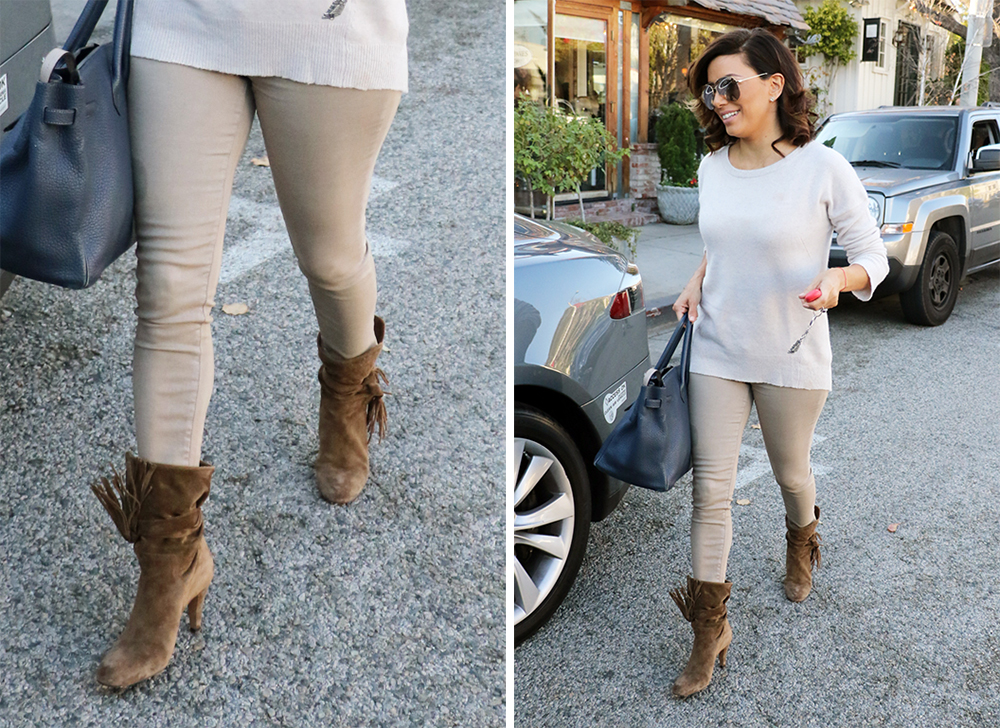 Celebs High End Boots Were Made For Modeling But Seem