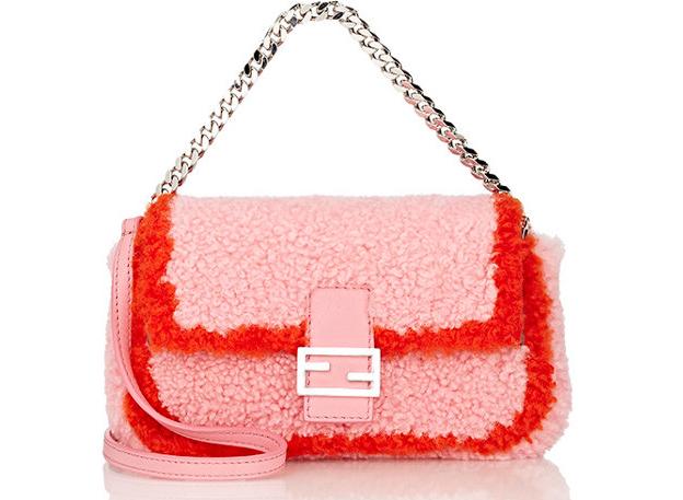 Fendi-Shearling-Micro-Baguette-Bag