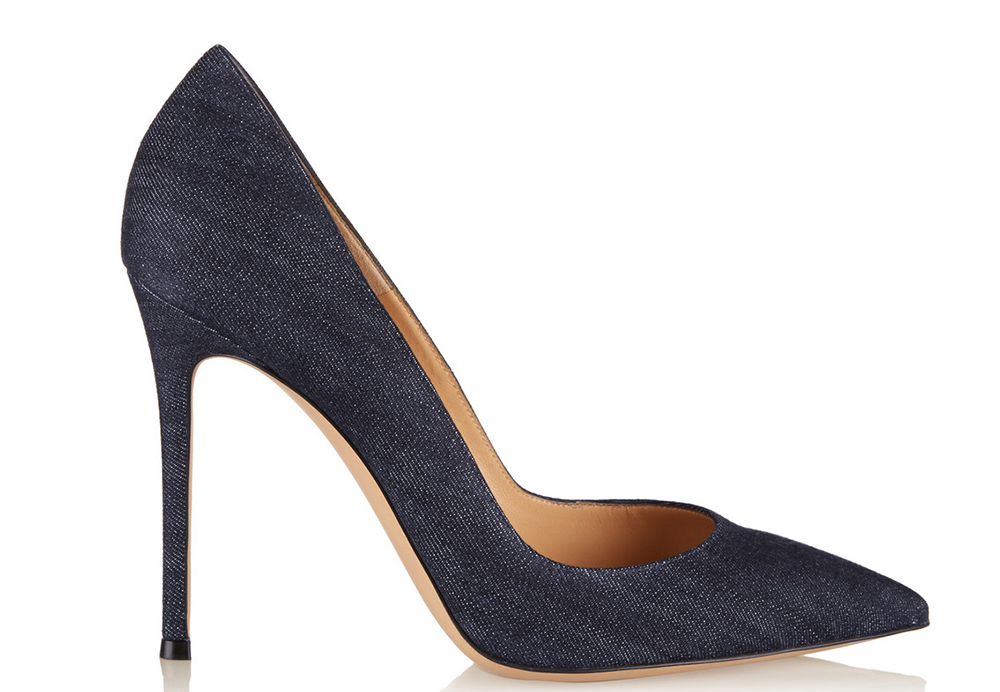 Gianvito Rossi Denim Pumps