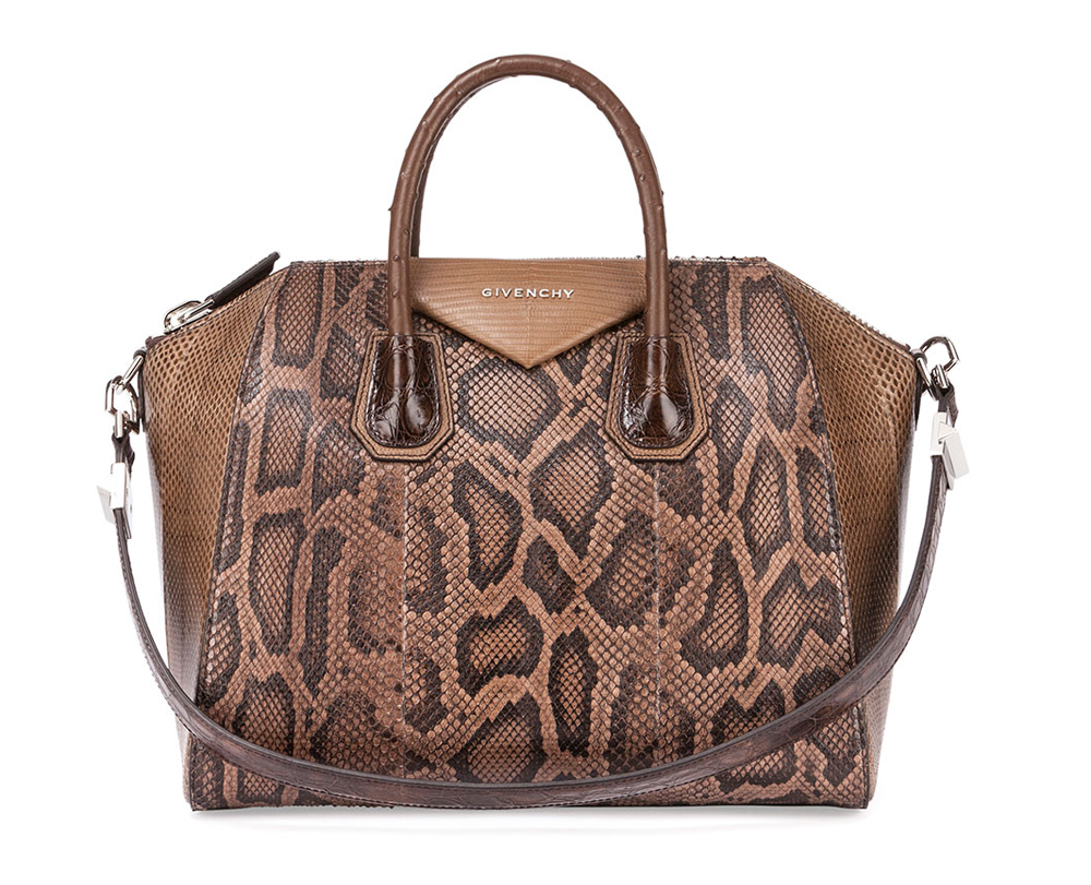 Givenchy-Antigona-Python-Lizard-Crocodile-Ostrich