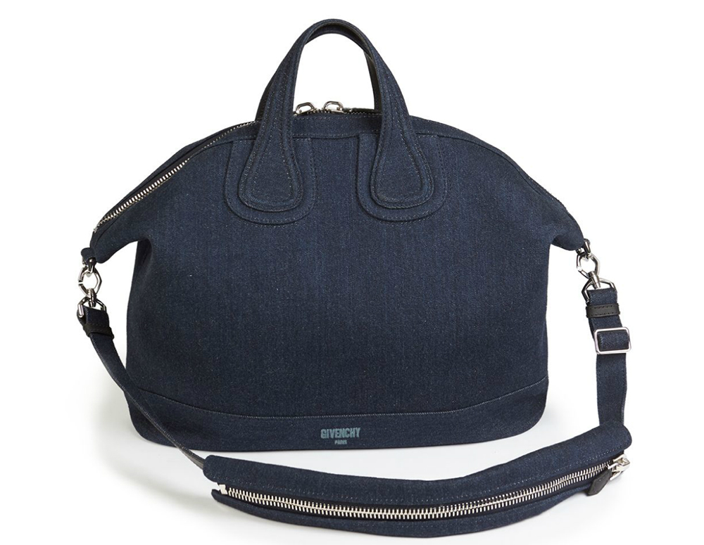 Givenchy Denim Nightingale Satchel