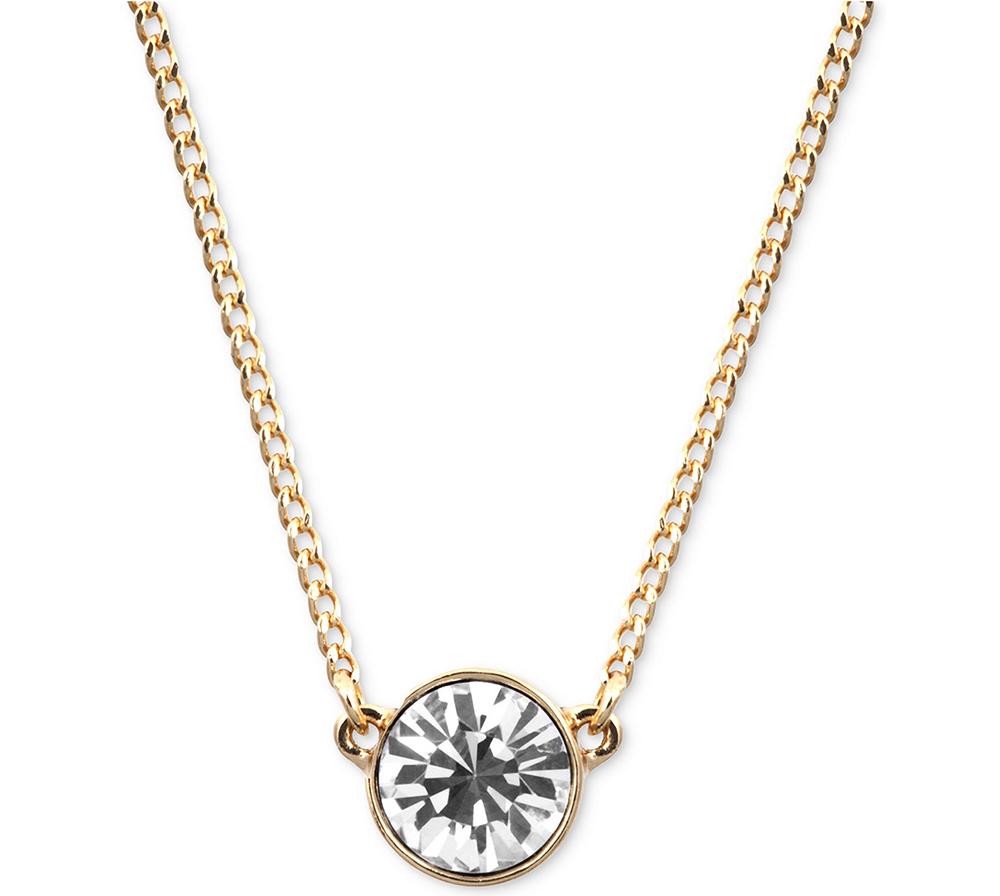 Givenchy Necklace Swarovski Element Pendant