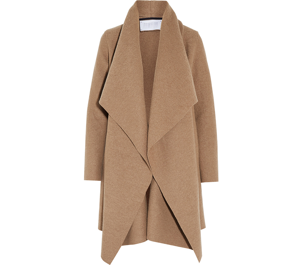 Harris Wharf London Shawl-Collar Wool Coat