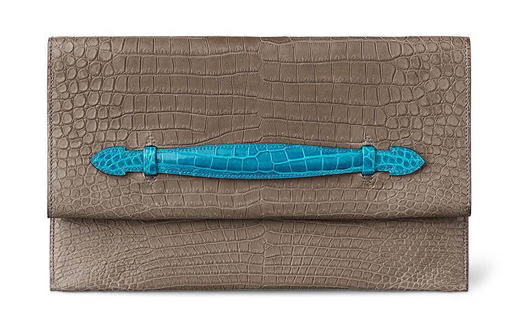 Hermes-Pliplat-Crocodile-Clutch