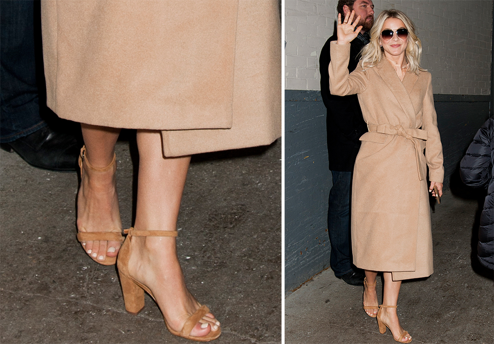 Julianne-Hough-Manolo-Blahnik-Lauratop-Sandals