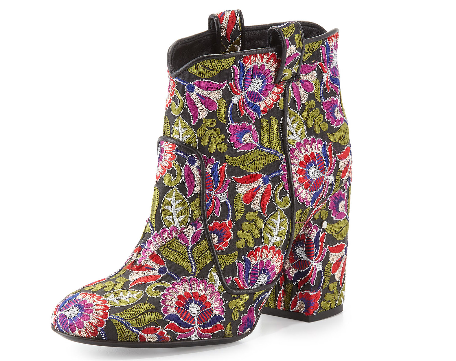 Laurence Dacade  Pete Floral-Embroidered Ankle Boot