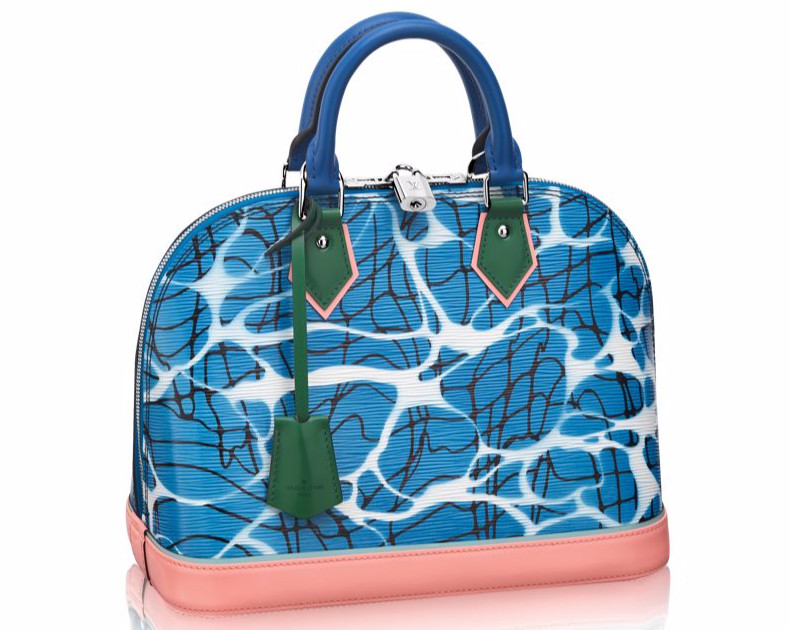 Louis Vuitton Aqua Print Epi Alma PM