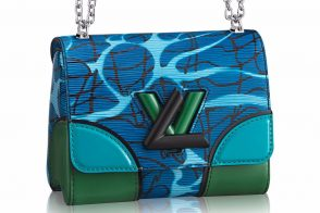 Louis Vuitton Aqua Print Epi Leather