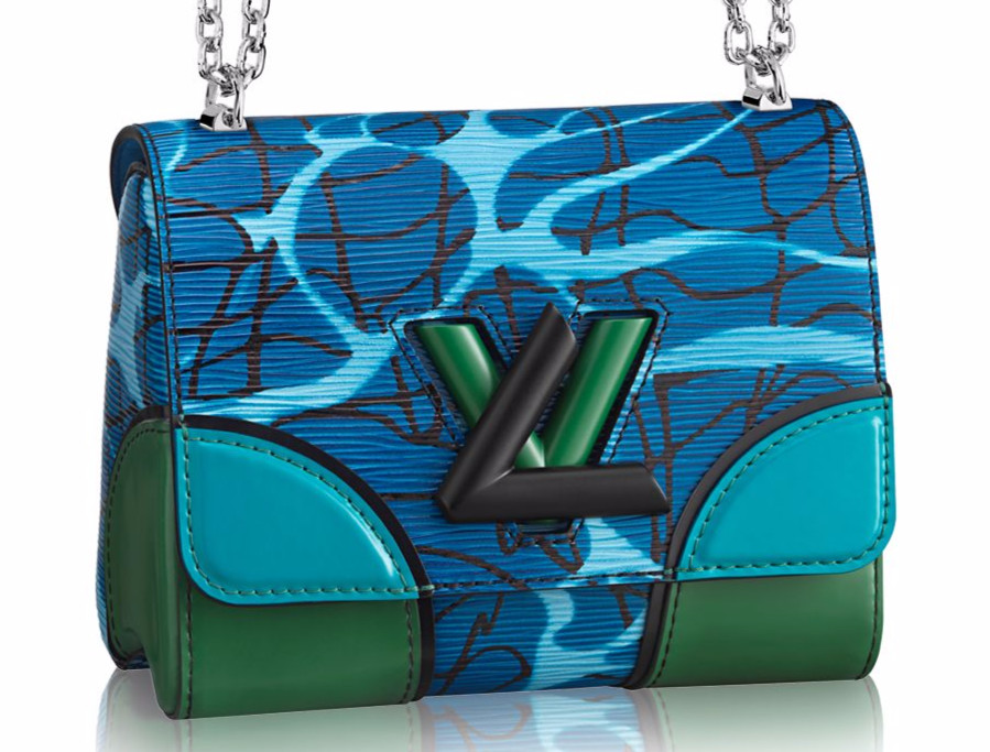 Louis Vuitton Aqua Print Epi Twist PM