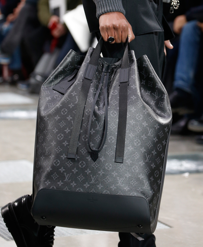 Louis Vuitton Debuts New Monogram Eclipse Print At Men S