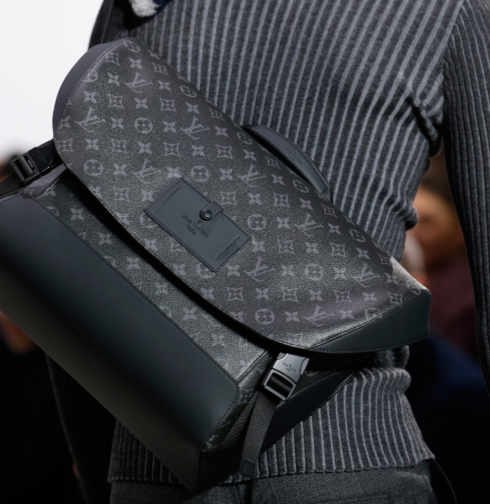 louis vuitton debuts new monogram eclipse print at mens