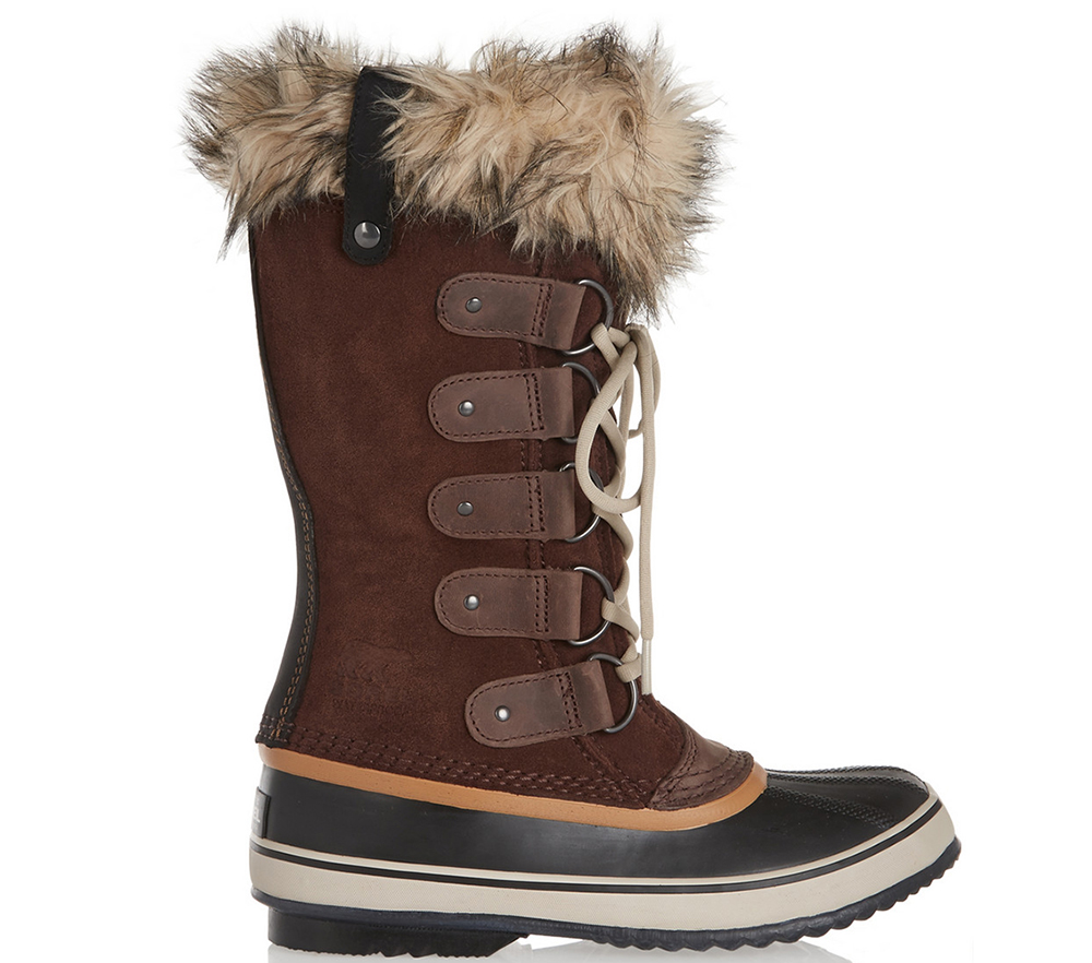 Sorel Joan of Arctic Waterproof Suede and Leather Boots