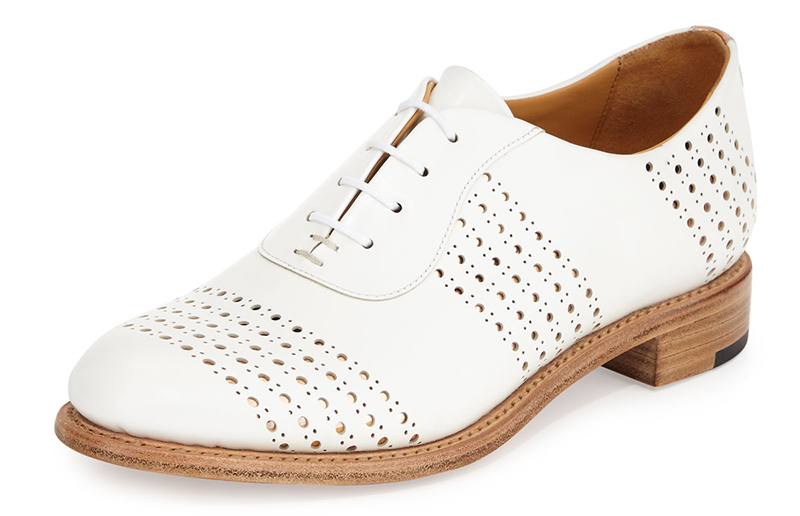 The Office of Angela Scott Mr. Smith Perforated Leather Oxford