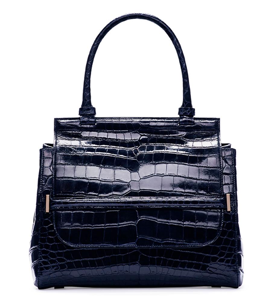 The-Row-Top-Handle-10-Crocodile-Bag