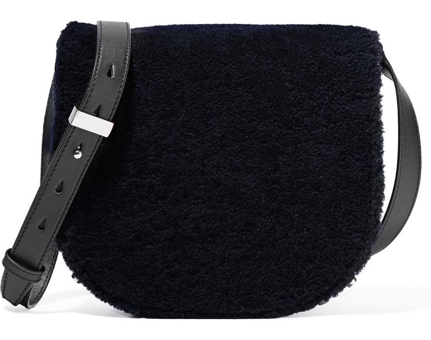 Alexander-Wang-Lia-Shearling-Saddle-Bag