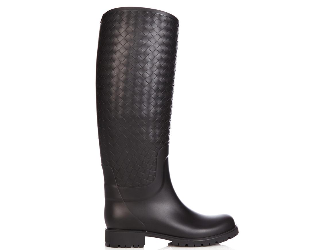 Bottega Veneta Intrecciato Rubber Boots