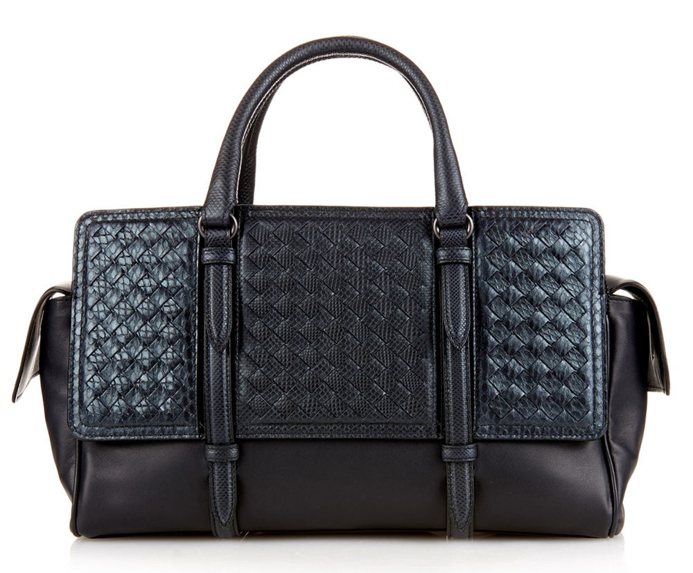 Bottega-Veneta-Monaco-Python-and-Leather-Bag