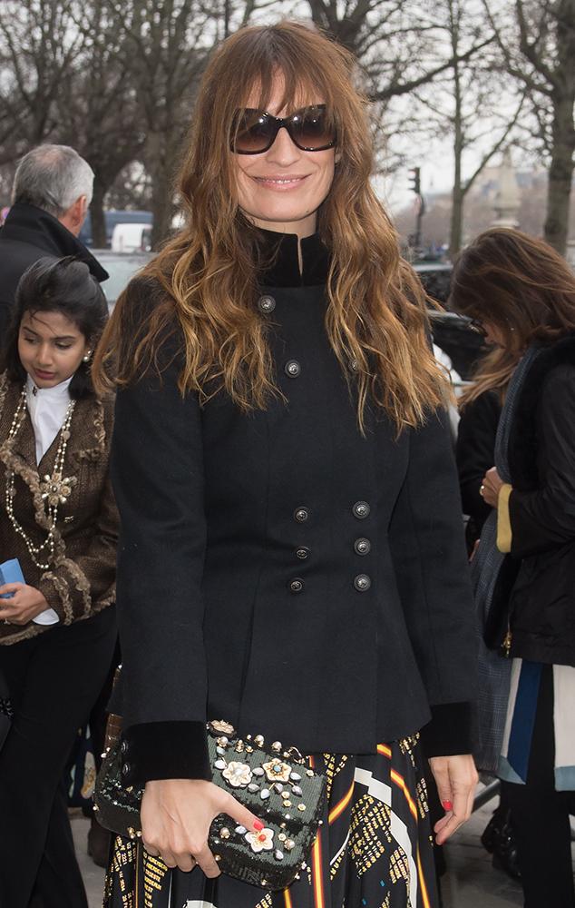 Caroline-de-Maigret-Chanel-Sequined-Flap-Bag