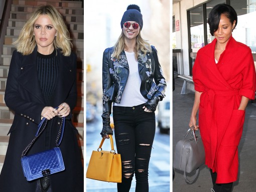 Furry Fendis & Velvet Chanels: This Week, Celebs Are All About Texture