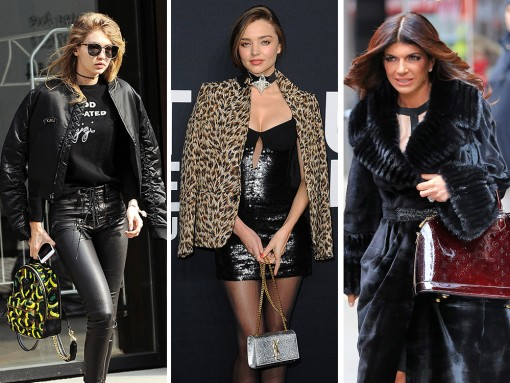 Vuitton & Saint Laurent were Celebs' Brands of Choice in the Days Before NYFW