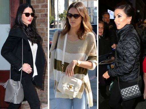 Celebs Eat Cake, See Broadway Shows & Attend NYFW with Great Bags