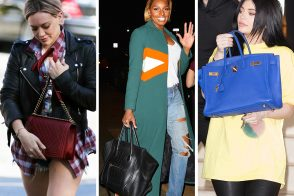 Oversized Totes & Short Shorts are This Week's Celeb Musts