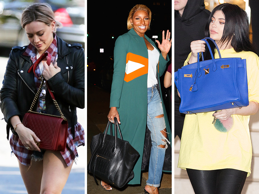 d3a1d3de4c5b Oversized Totes   Short Shorts are This Week s Celeb Musts - PurseBlog